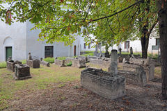 Medieval Khan cemetery Stock Photography