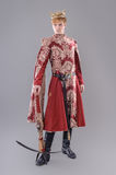 Medieval King. With sword and crown. Joffrey Lannister. Game of thrones Stock Photo