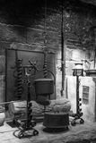 Medieval kitchen in castle Royalty Free Stock Image