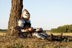 Medieval knight Stock Photo