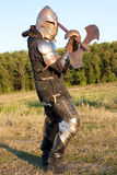 Medieval knight Stock Photography