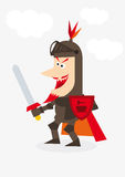 Medieval knight Royalty Free Stock Photo