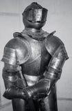 Medieval knight armor. In Bojnice castle, Slovakia Stock Photo