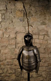 Medieval knight armor Royalty Free Stock Photography