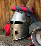 Medieval knight armour Royalty Free Stock Photo