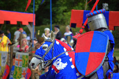 Medieval knight blazonry Stock Photos