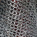 Chain armour texture Royalty Free Stock Photography