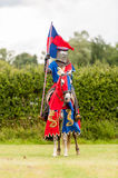 Medieval knight costume Stock Photography