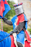 Medieval knight costume Royalty Free Stock Images