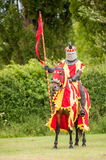 Medieval knight costume Royalty Free Stock Photo