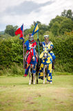Medieval knight costume Royalty Free Stock Image