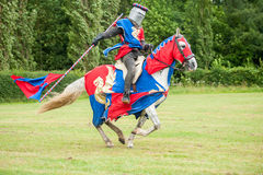 Medieval knight costume Royalty Free Stock Photos