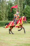 Medieval knight costume Stock Photo