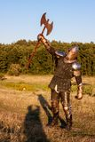Medieval knight Stock Images