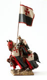 Medieval knight figurine Stock Photos