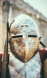 Medieval Knight In Helmet Royalty Free Stock Photos