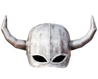 Medieval knight helmet isolated Stock Photos