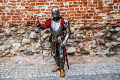 Medieval knight lord Stock Image
