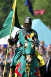Medieval Knight On Horseback Stock Photos