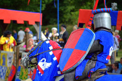 Medieval knight panoply Royalty Free Stock Images