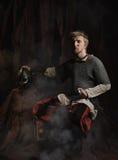 Medieval knight Stock Photo