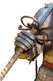 Medieval knight suit of armor Royalty Free Stock Image
