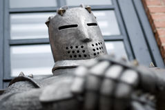 Medieval Knights. Armor. Royalty Free image of Medieval Knights Stock Images