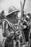 Medieval knights armor Royalty Free Stock Photography