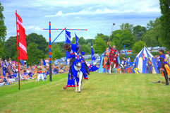 Medieval knights tourney Royalty Free Stock Photos