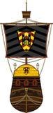 Medieval Knights Warship Stock Photo