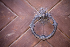 Medieval knocker Royalty Free Stock Photos