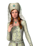 Medieval Lady Stock Image