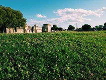Medieval landscape royalty free stock images
