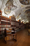 Medieval library of Strahov Monastery Royalty Free Stock Photography
