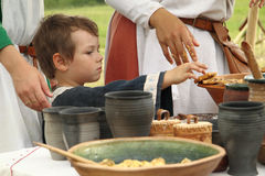 Medieval life Stock Images