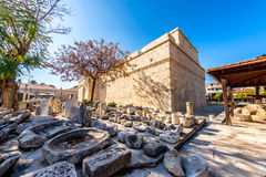 The medieval Limassol Castle. Cyprus Royalty Free Stock Photos