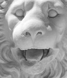 Medieval lion statue Royalty Free Stock Image