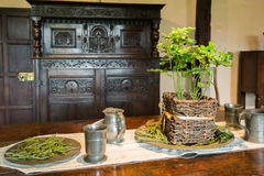 Medieval livingroom Stock Photography