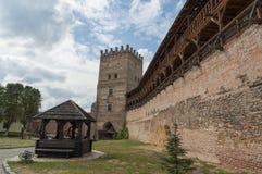 Medieval Ljubart fortress Royalty Free Stock Image