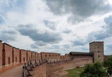 Medieval Ljubart fortress Stock Image
