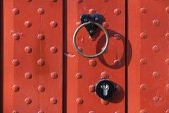 Medieval looking door Stock Photo