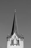 MEDIEVAL LUTHERAN CHURCH Royalty Free Stock Photography