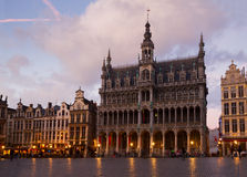 Medieval Maison du Roi, Brussels Stock Photography