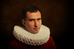 Medieval man Royalty Free Stock Photos