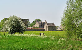 Medieval  Manor Farmhouse in Rural England Stock Photos