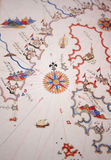 Medieval Map Stock Photo
