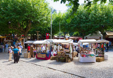 Medieval market, Sintra, Portugal Stock Image