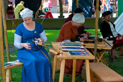 The Medieval Market in Turku Royalty Free Stock Photo