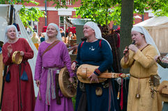 The Medieval Market of Turku Stock Images