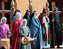 The Medieval Market in Turku Stock Image